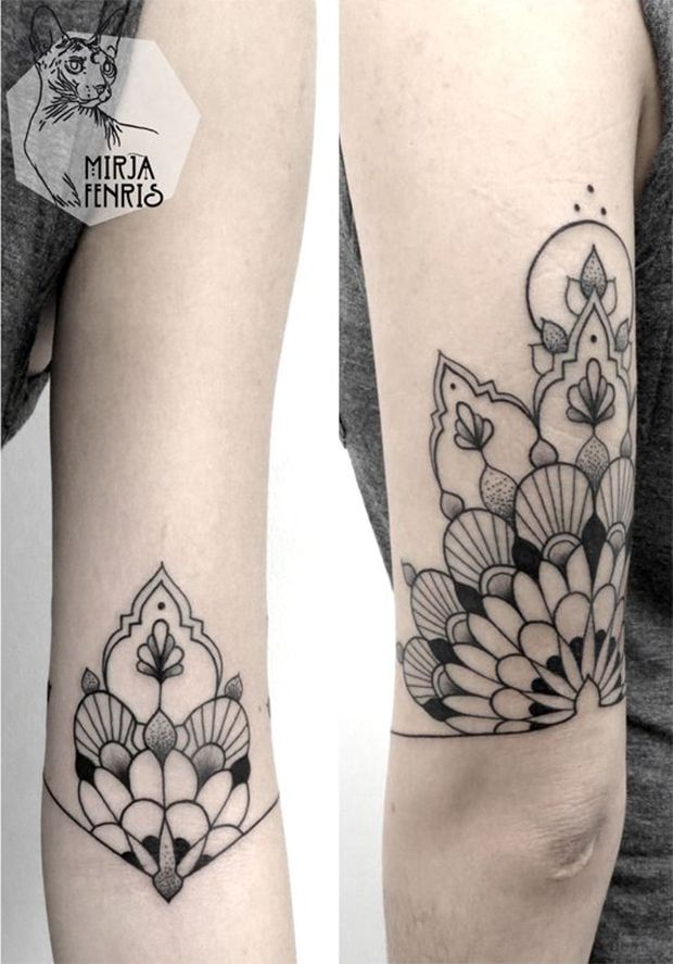 inspirada pela geometria sagrada mirja fenris cria tatuagens de simetrias perfeitas ink. Black Bedroom Furniture Sets. Home Design Ideas