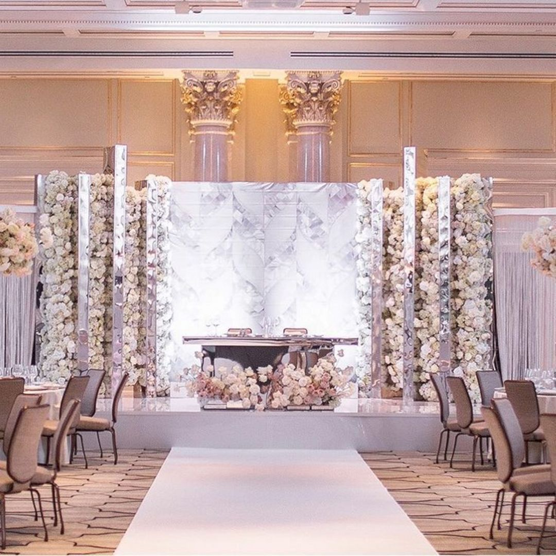 Organizasyon Wedding Backdrop Design Wedding Reception Backdrop