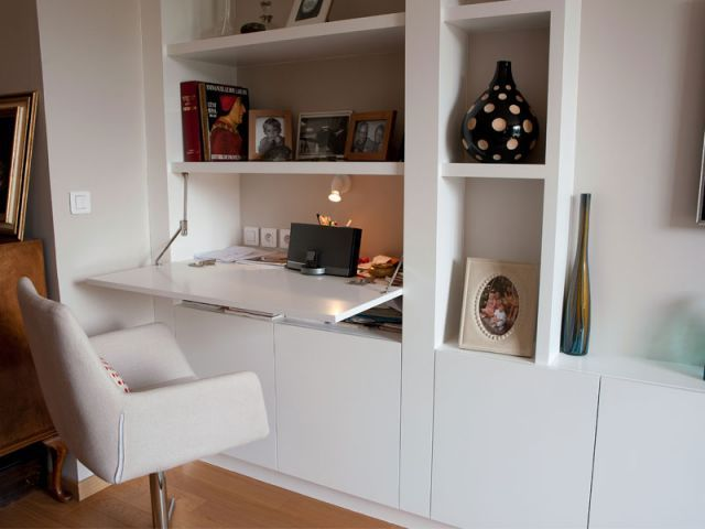 Am nager un coin bureau dans un salon salon pinterest la maison des travaux saint cloud - Salon des saveurs saint cloud ...