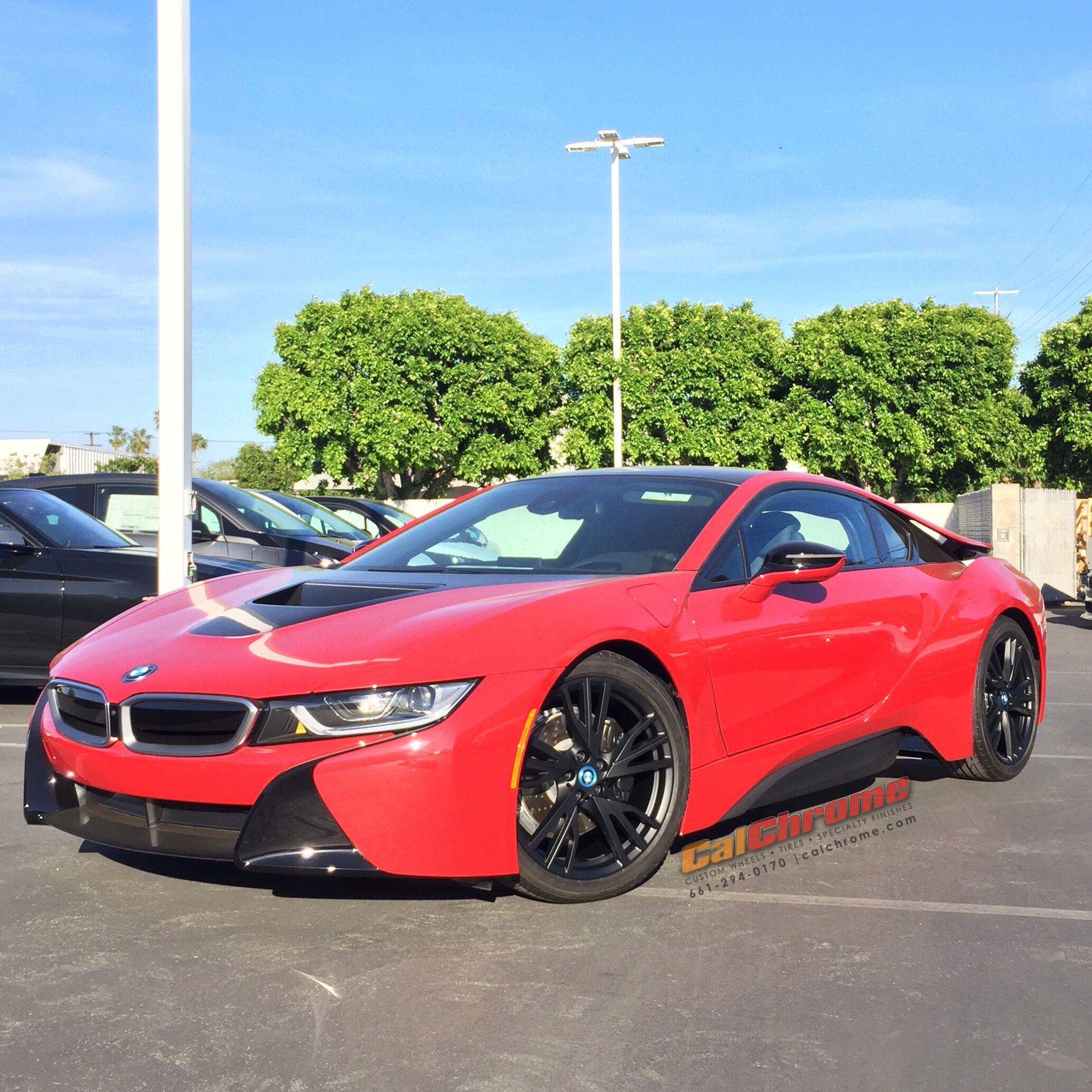 2017 Bmw I8 On Matte Black Wheels Wheelwednesday Matteblackwheels