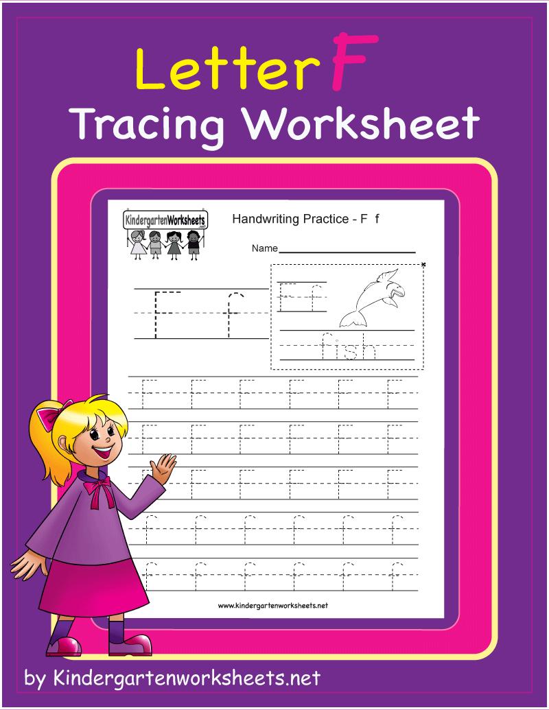 Letter F Tracing Worksheet English Worksheets For Kids Writing Practice English Worksheets For Kindergarten [ 1035 x 800 Pixel ]