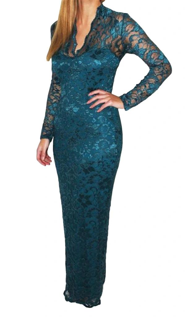 Koronkowa Sukienka Claudyna Sale Bizuu Dresses Dresses With Sleeves Cold Shoulder Dress