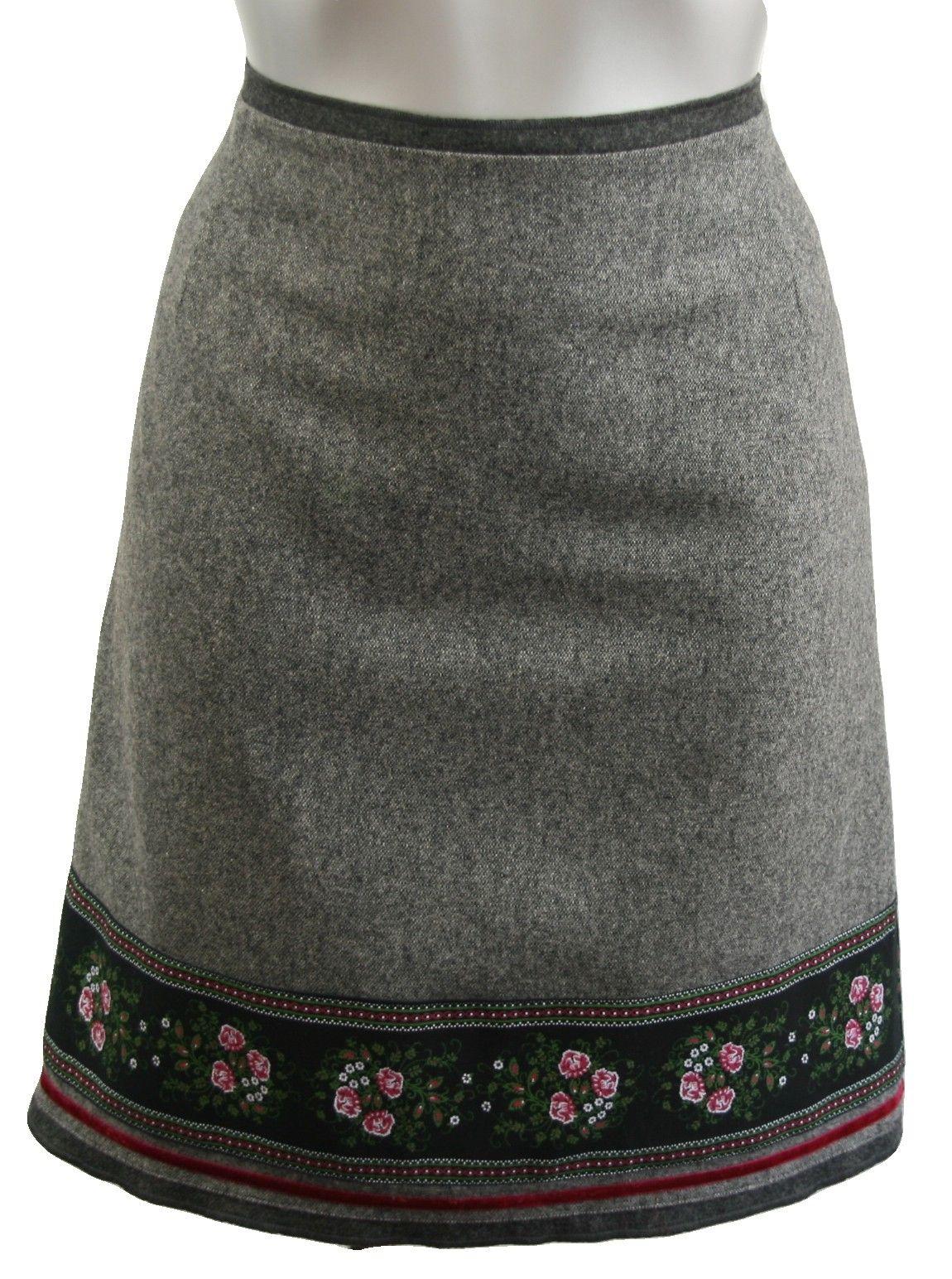 Trachtenrock Anno Domini Design grau | Dirndl, Trachten und Trachtenrock