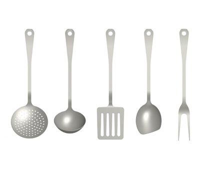 Kitchen Cutlery Set Jasper Morrison 2004 Madealessi Fair Kitchen Cutlery  Inspiration Design