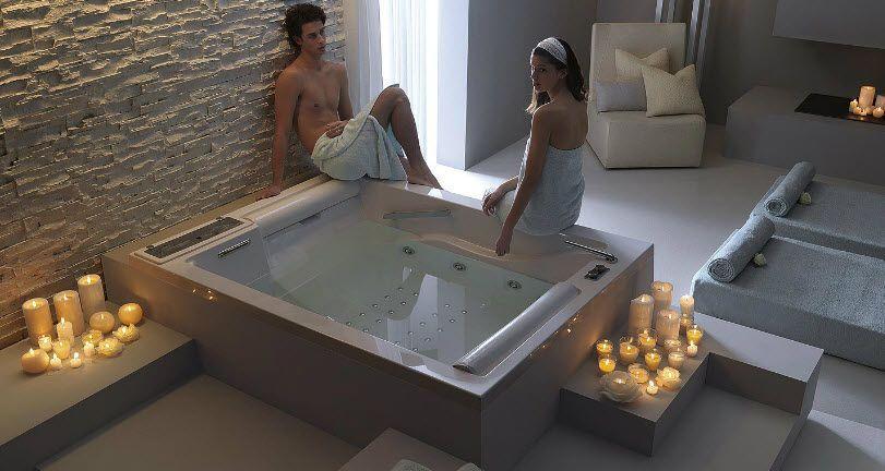 Baignoire Balneotherapie 2 Places Pour Couple Baignoire Idees