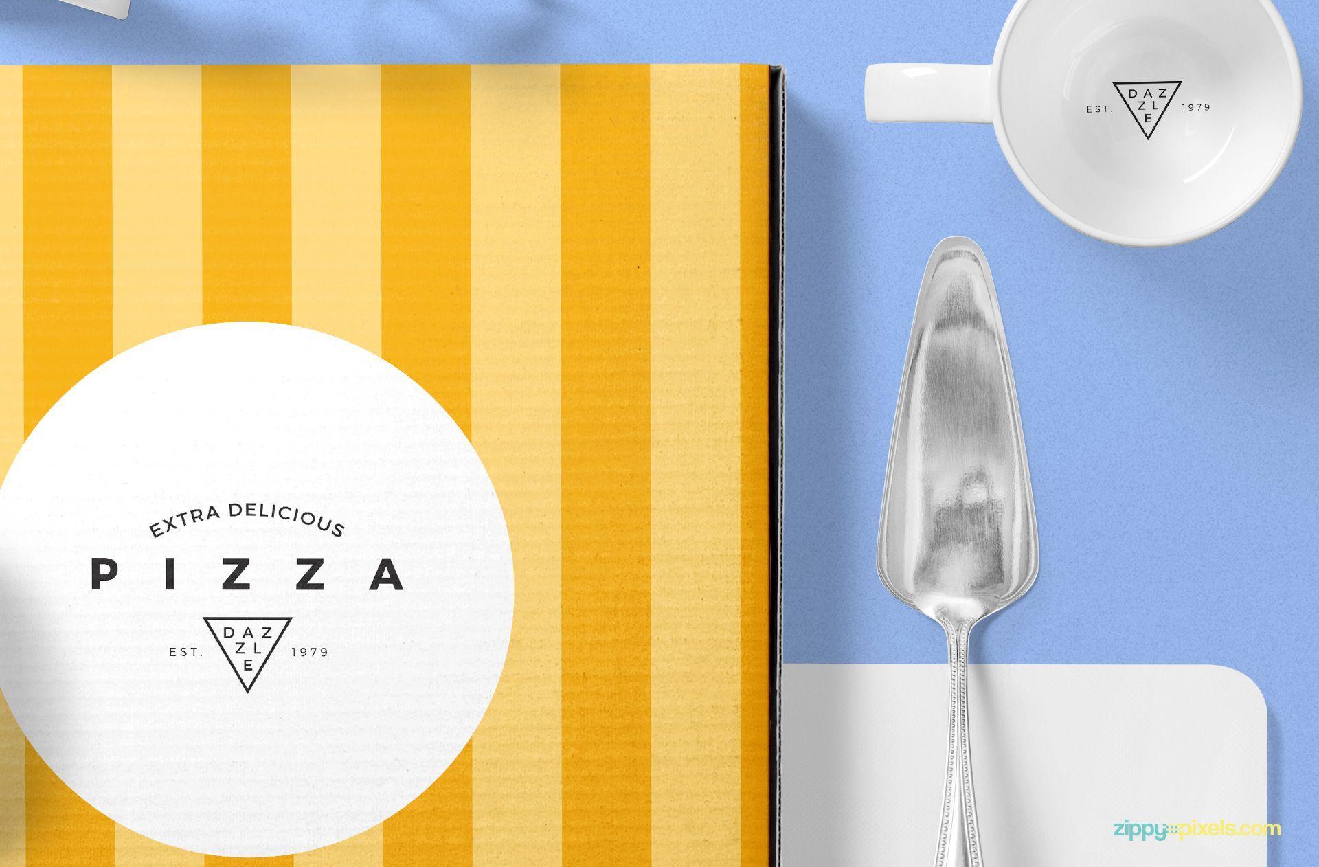 Download Pizza Packaging Mockup Free Psd Scene Zippypixels Psd Templates Mockup Free Psd Packaging Mockup