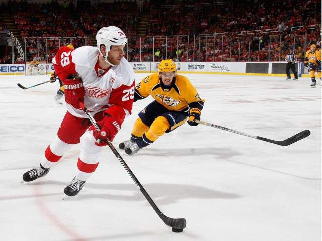 buy online 3970d 68eb4 Canadiens acquire veteran forward Steve Ott from Red Wings ...