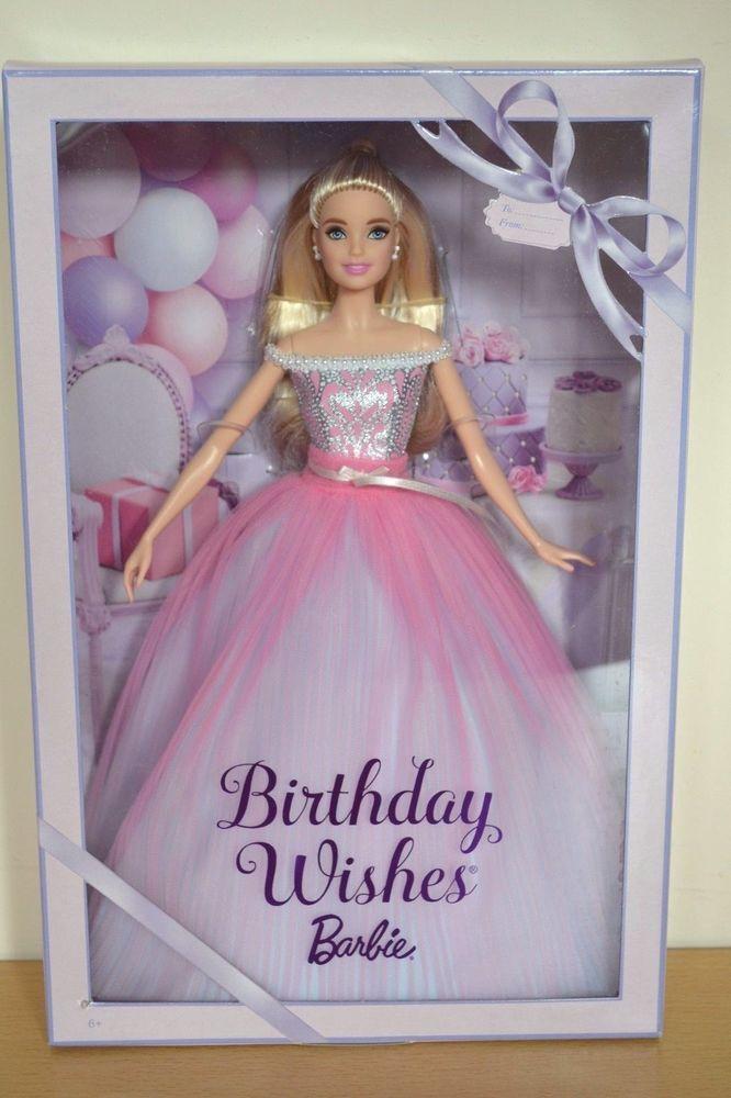 2017 Pink Label Blonde BIRTHDAY WISHES Barbie
