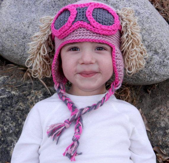Paw Patrol Skye Crochet Hat Pattern
