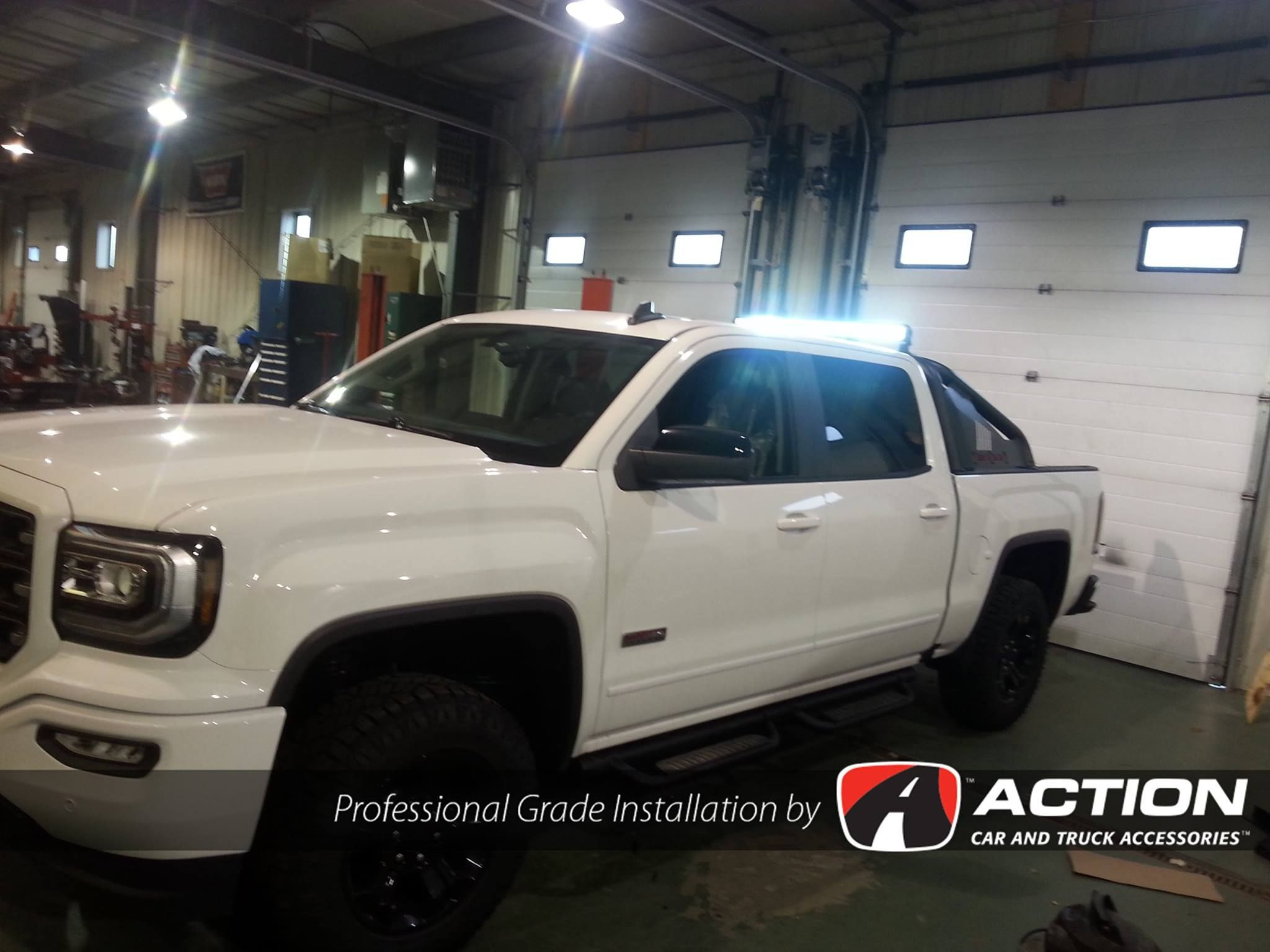40 Light Bar By Rigid Industries Installed On This New 2016 Gmc
