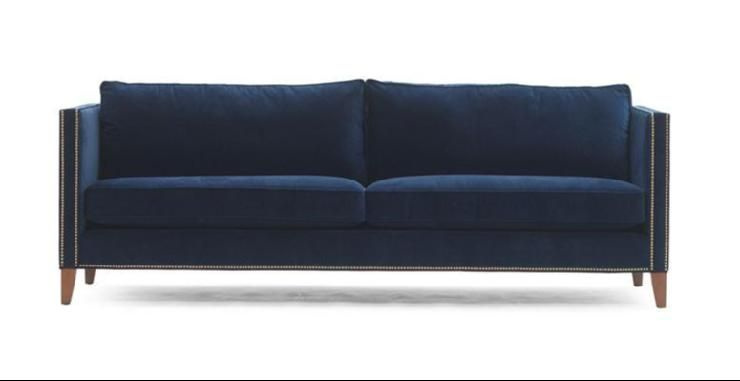 Navy Sofa Liam Collection Mitchell Gold Bob Williams For The
