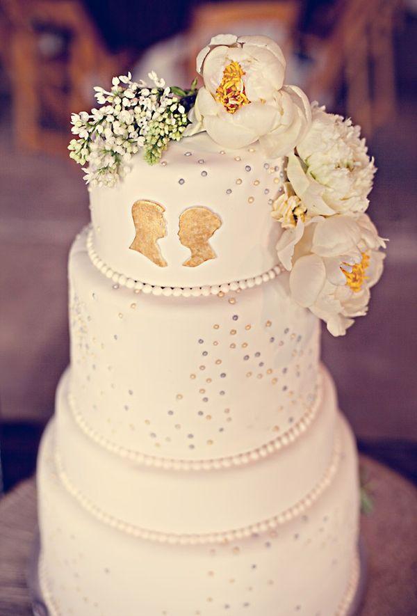 Silhouettes Cake