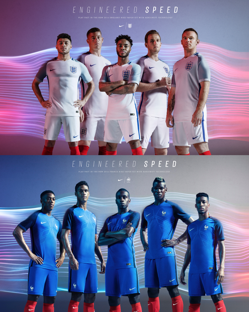 Photographer Rick Guest for Nike Football 'Vapor' Campaign