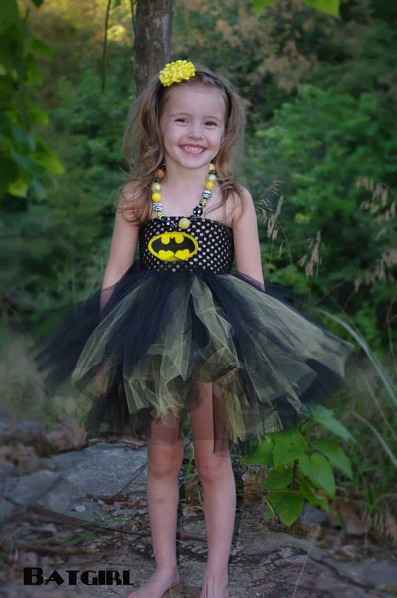Big Bow BatmanBatgirl Dress