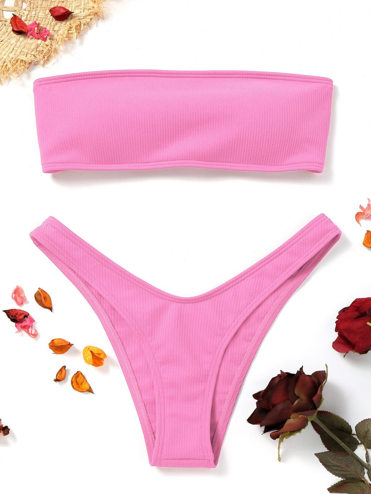 f61120450da14 ... suits for women on ZAFUL. They are beautiful, lovable and affordable.  You deserve it! #affiliatelink #pink #bikini #summertime