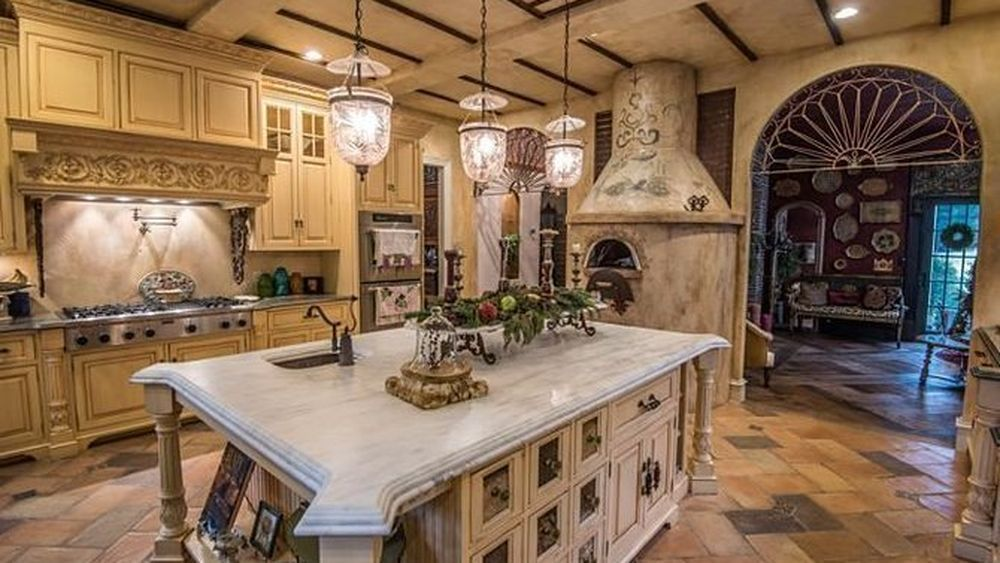 Here Are 8 Modern Kitchens Trying Their Best To Blend Into Castles Modern Castle Modern Kitchen Castle Decor