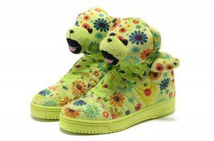 Adidas Jeremy Scott Flower Power Bear outlet cheap sale free shipping