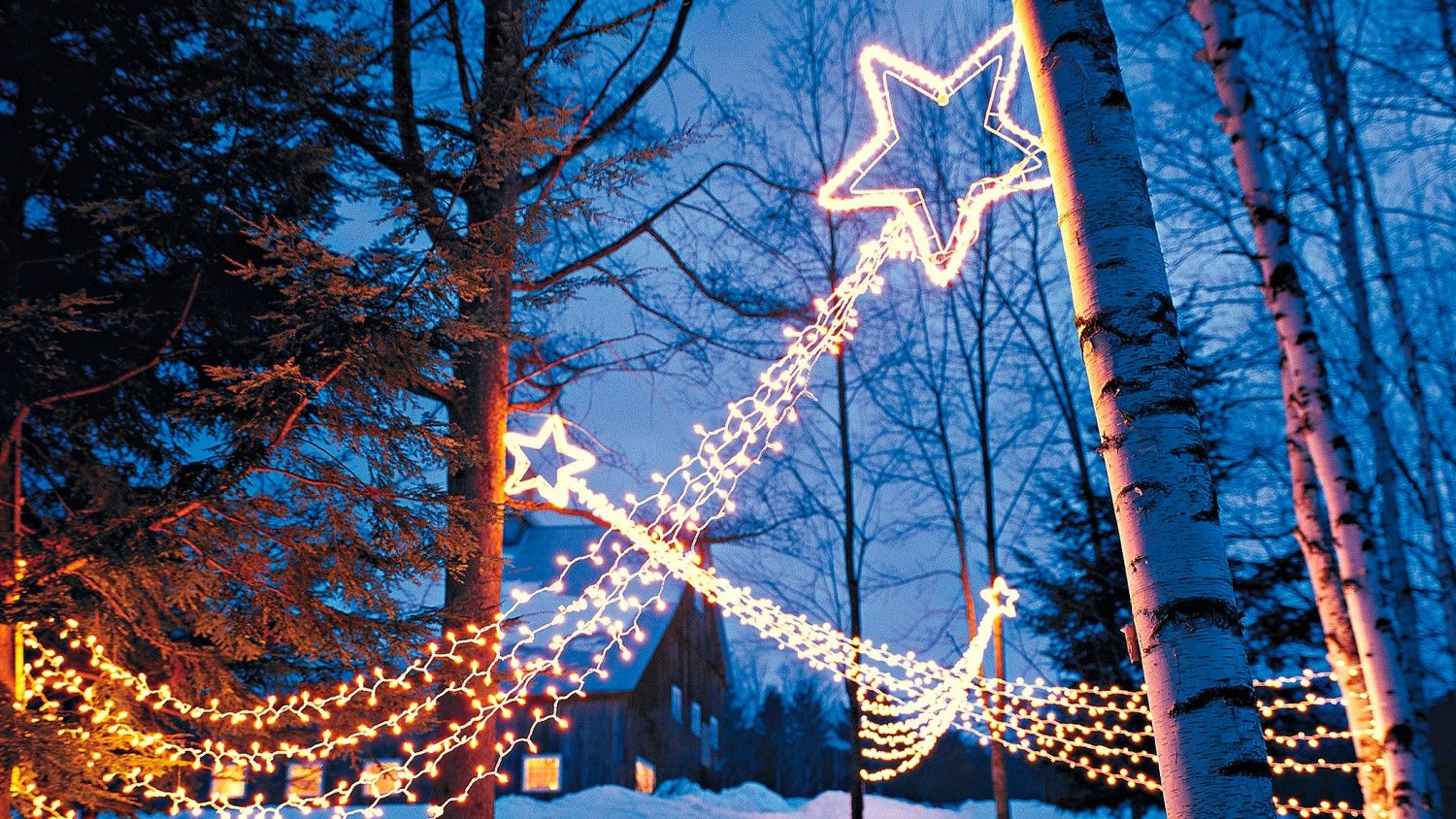 Shooting Stars Outdoor Lighting Outdoor christmas