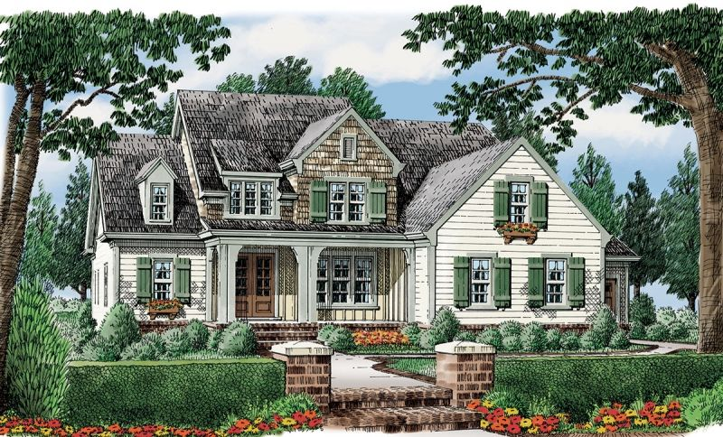 Statesboro Home Plans And House Plans By Frank Betz Associates Southern Living House Plans Country Style House Plans House Plans Farmhouse