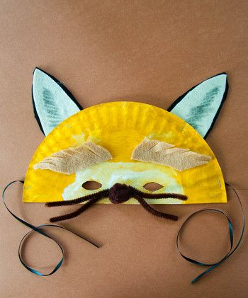 Big Bad Wolf Paper Plate Mask | Activity | Education.com & Big Bad Wolf Paper Plate Mask | Wolf mask Big bad wolf and Paper ...