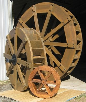 Site For A Guy Who Makes Waterwheels Has Info On Hydro