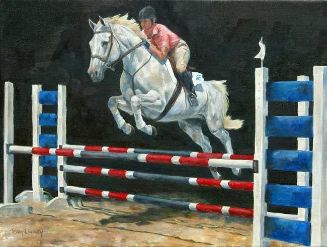 Equidae Gallery of Horse Paintings by Equine Artist Terry Lindsey