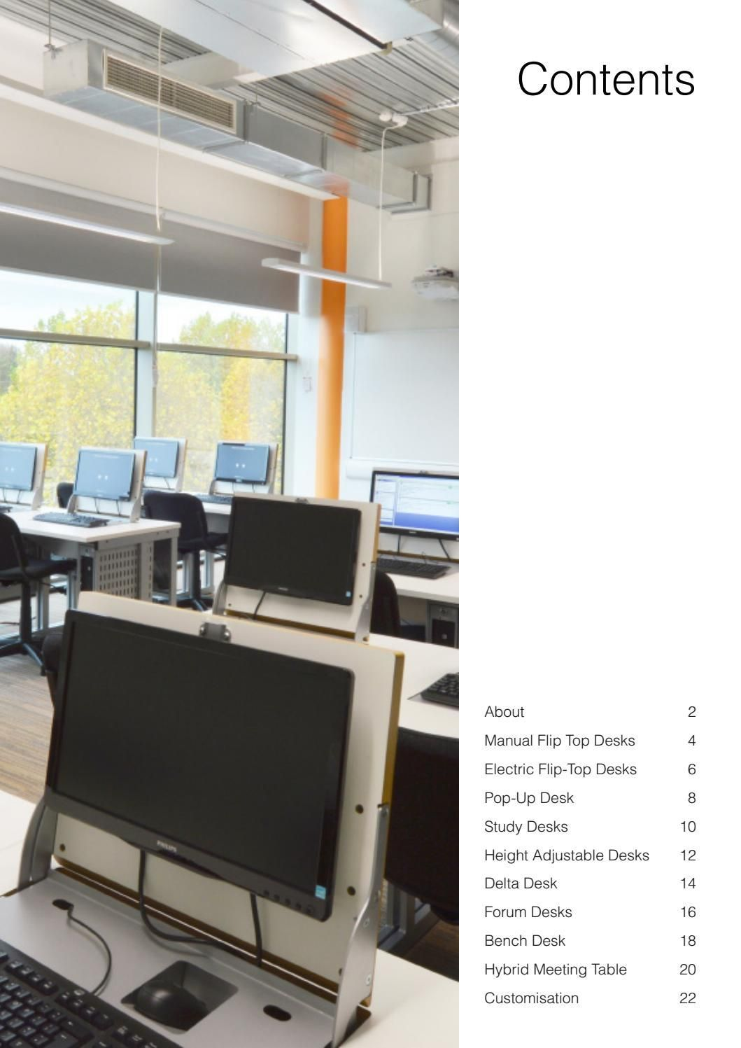 TOP-TEC Workspace Furniture v1605.1   Catalog