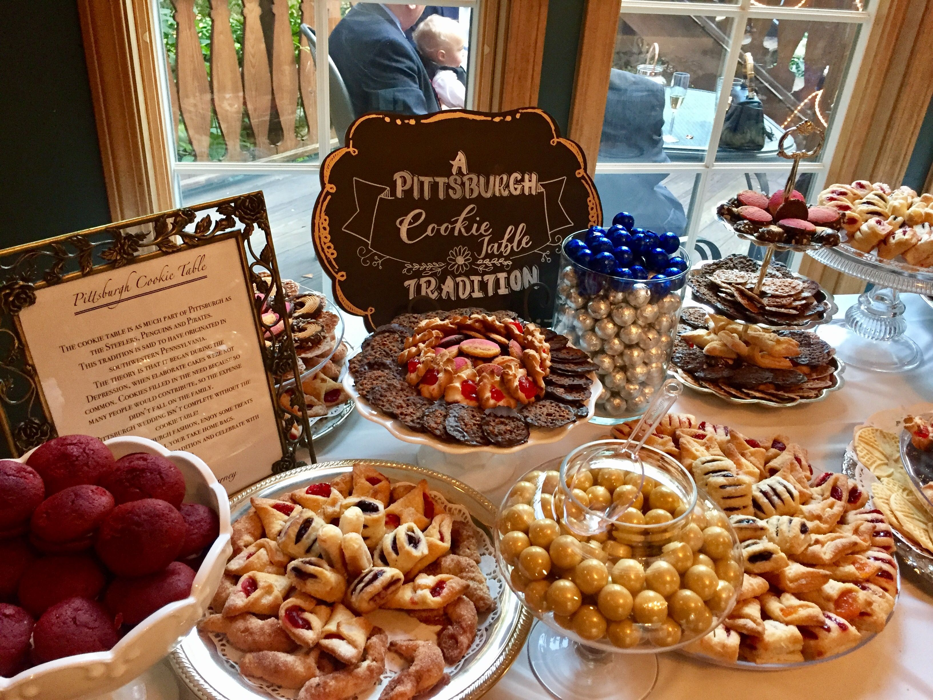 Pittsburgh Wedding Cookie Table Pittsburgh Wedding Cookie Table Cookie Table Wedding Wedding Dessert Table