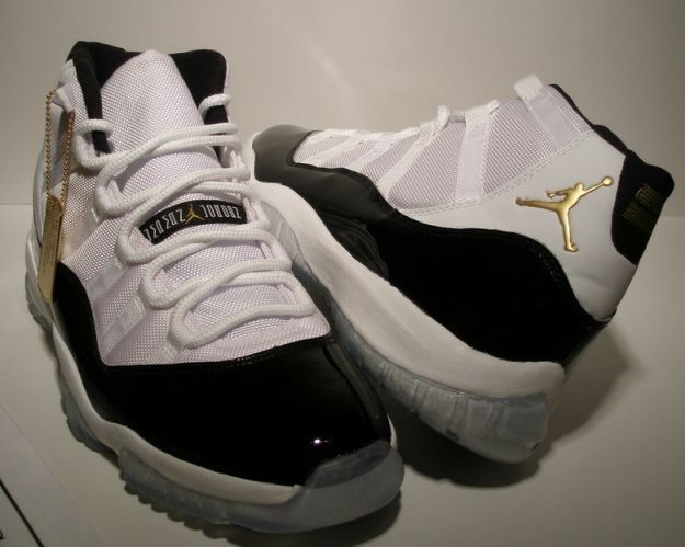 fd1147734541 Air Jordan 11 (XI) Retro - Defining Moments Package (DMP) - White   Metallic  Gold - Black