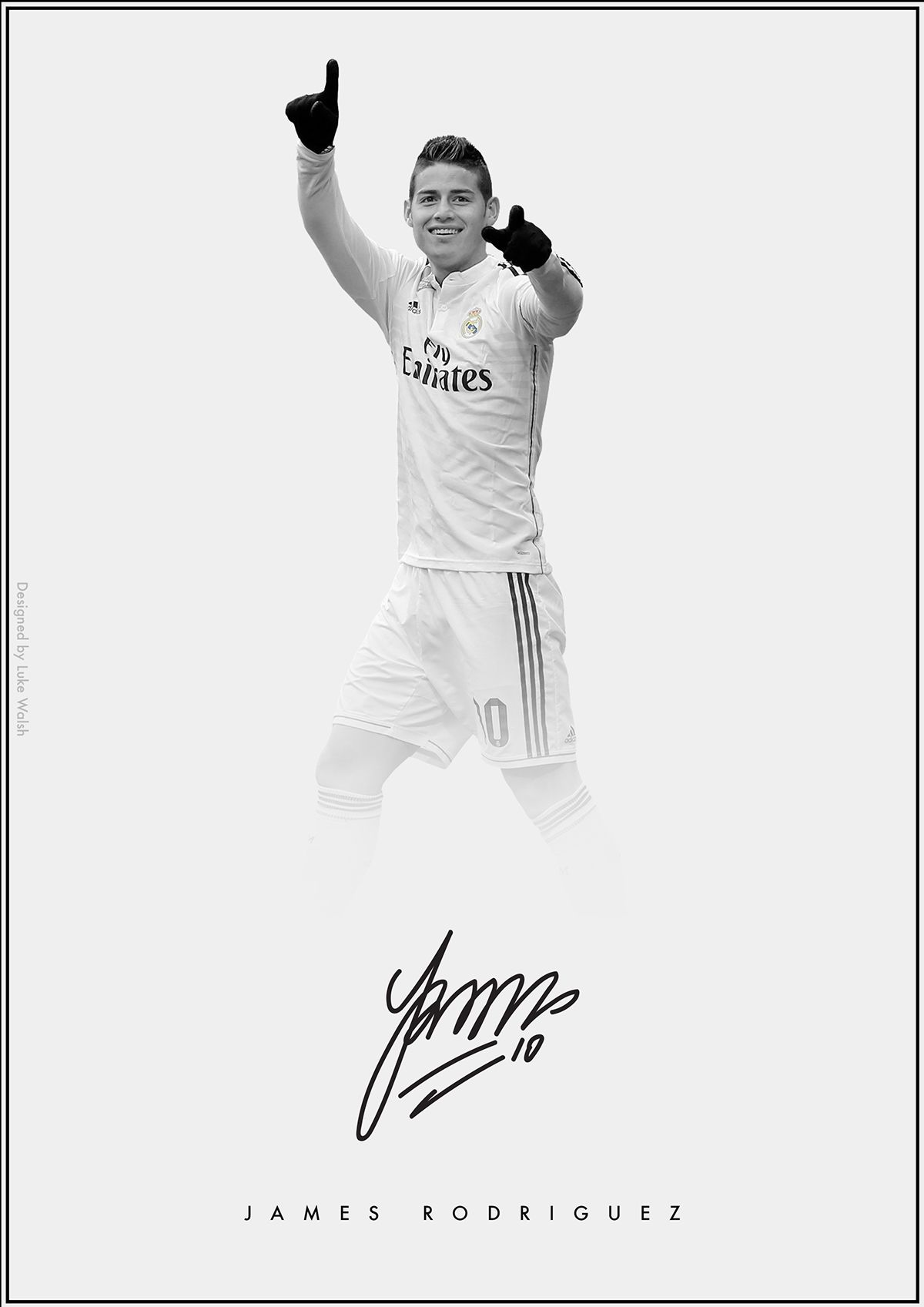 on sale 41070 4f159 The Signature Series on Behance - James Rodriguez - Real ...