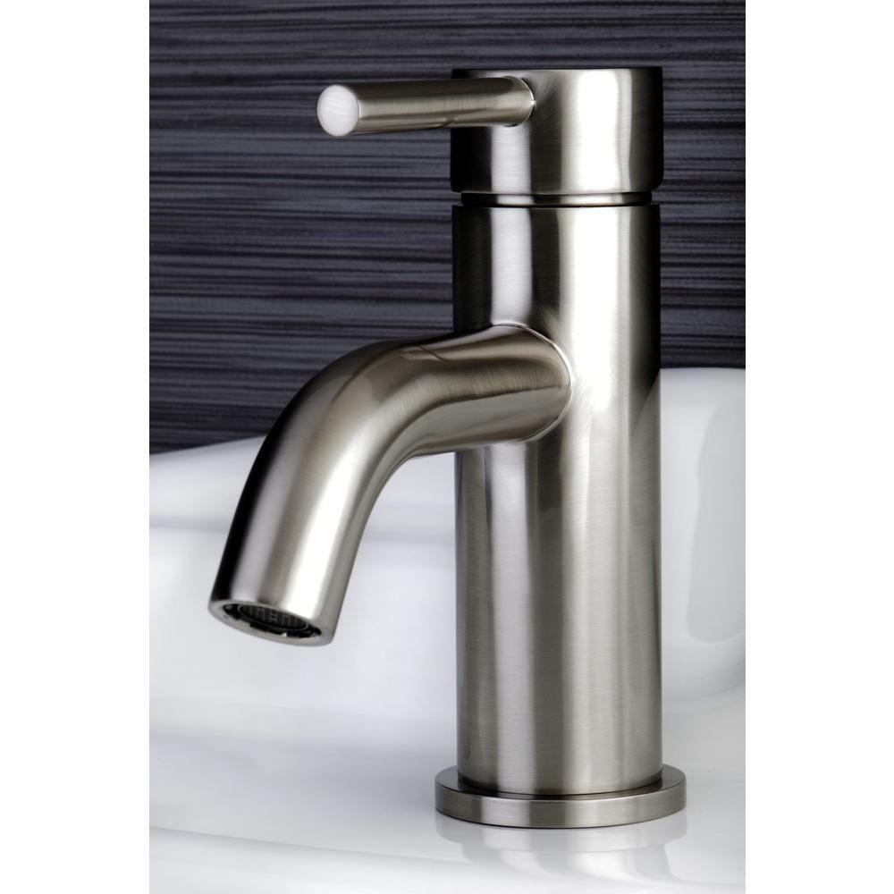 Kingston Brass Contemporary Single Hole 1 Handle High Arc Bathroom