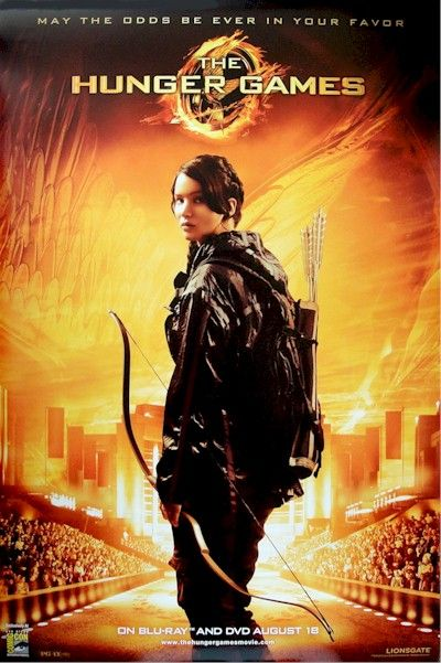 Hunger Games - Katniss Solo Arena Original 27x40 Movie ...