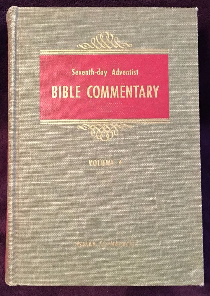 Seventh-day Adventist Bible Commentary Vol 4 1955 Francis Nichol