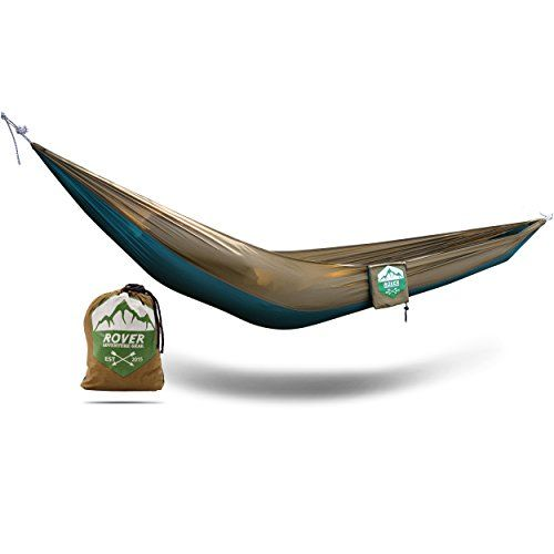 portable hammock 116 oz packed 8ft 2in ultra small lightweight parachute nylon material by rover adventure portable hammock 116 oz packed 8ft 2in ultra small lightweight      rh   pinterest