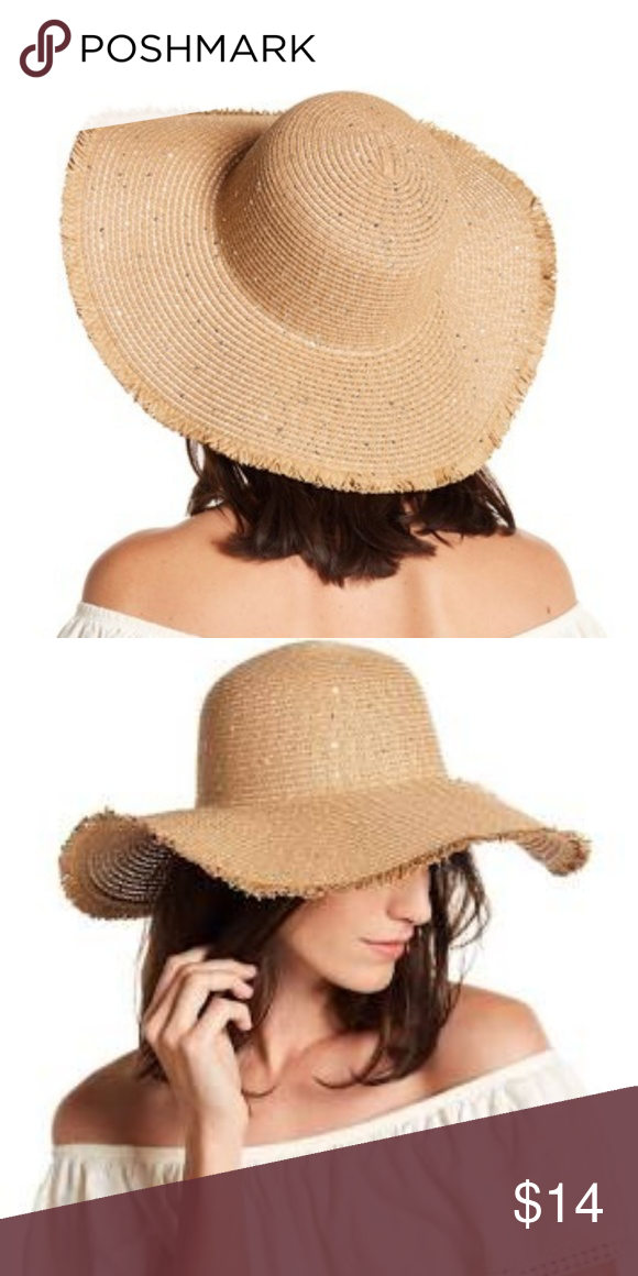 9de0313077c87a 🇺🇸 David and Young Floppy Straw hat Floppy hat lovers unite! This chic  sequin adorned straw hat is perfect for your next vacation!