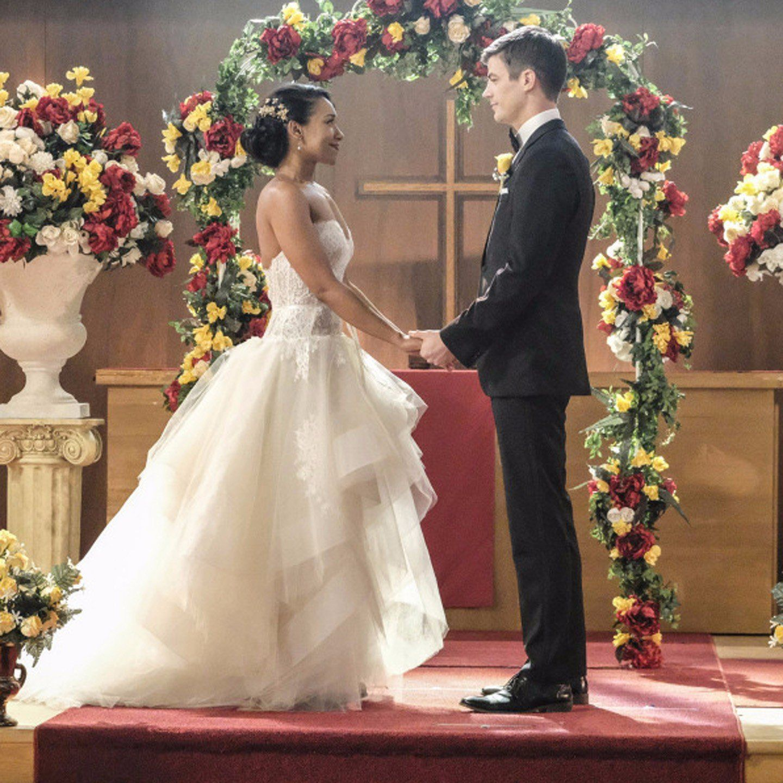 Barry Allen & Iris West   Iris wedding, The flash grant gustin ...
