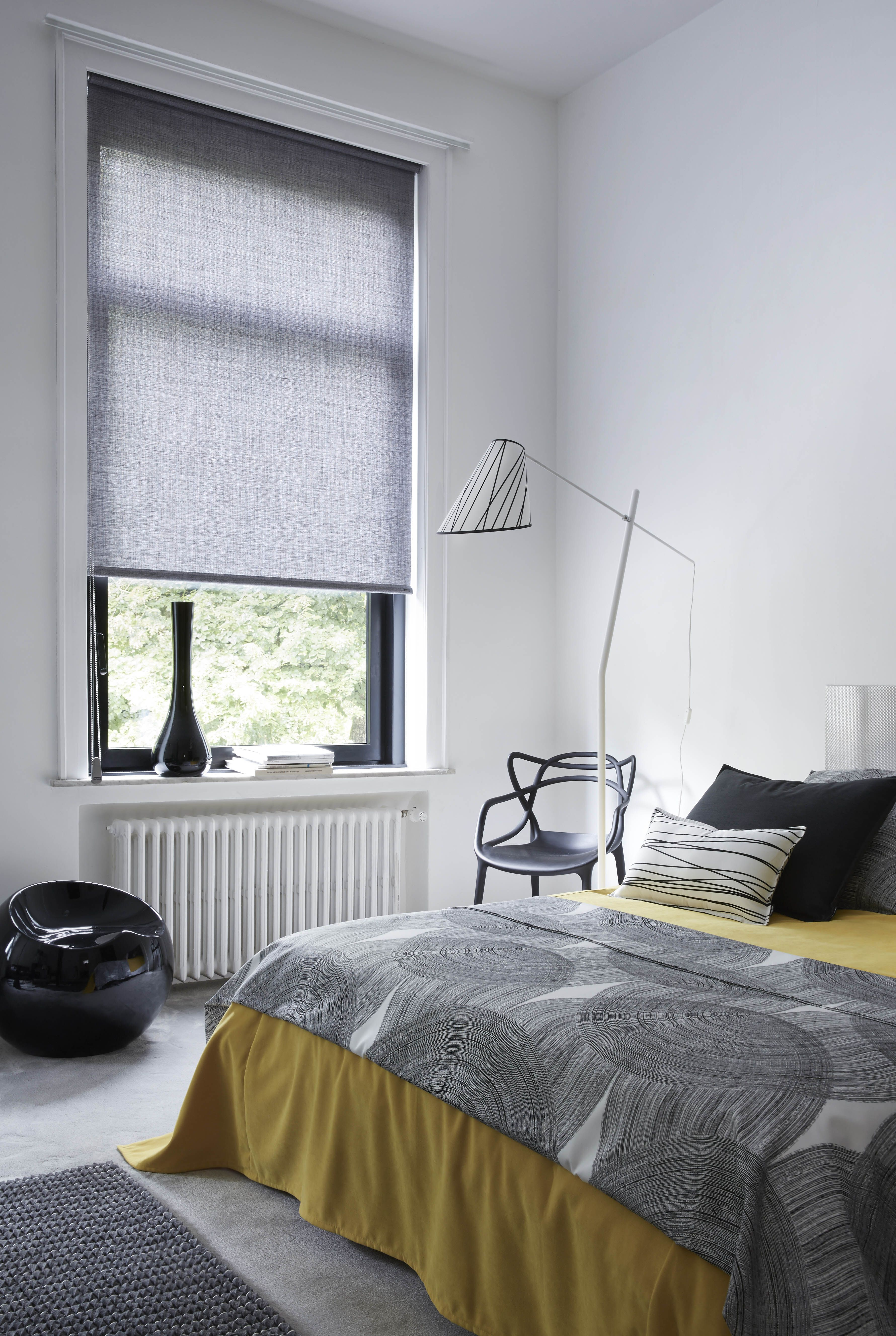 chez vous store enrouleur gris chin et abat jour. Black Bedroom Furniture Sets. Home Design Ideas