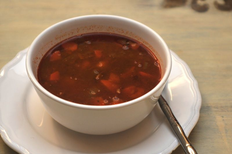 goulash soup is a famous hungarian and german soup with beef best german recipes food. Black Bedroom Furniture Sets. Home Design Ideas