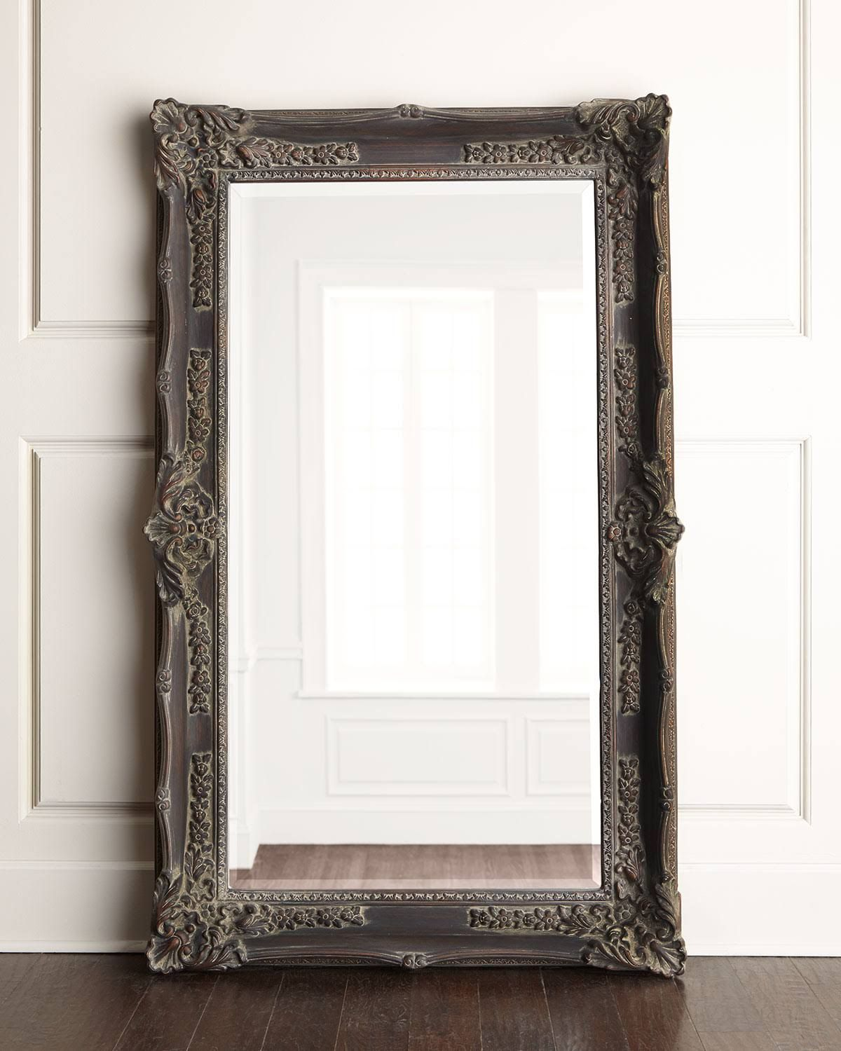 Horchow Antique French Floor Mirror Floor Mirror French