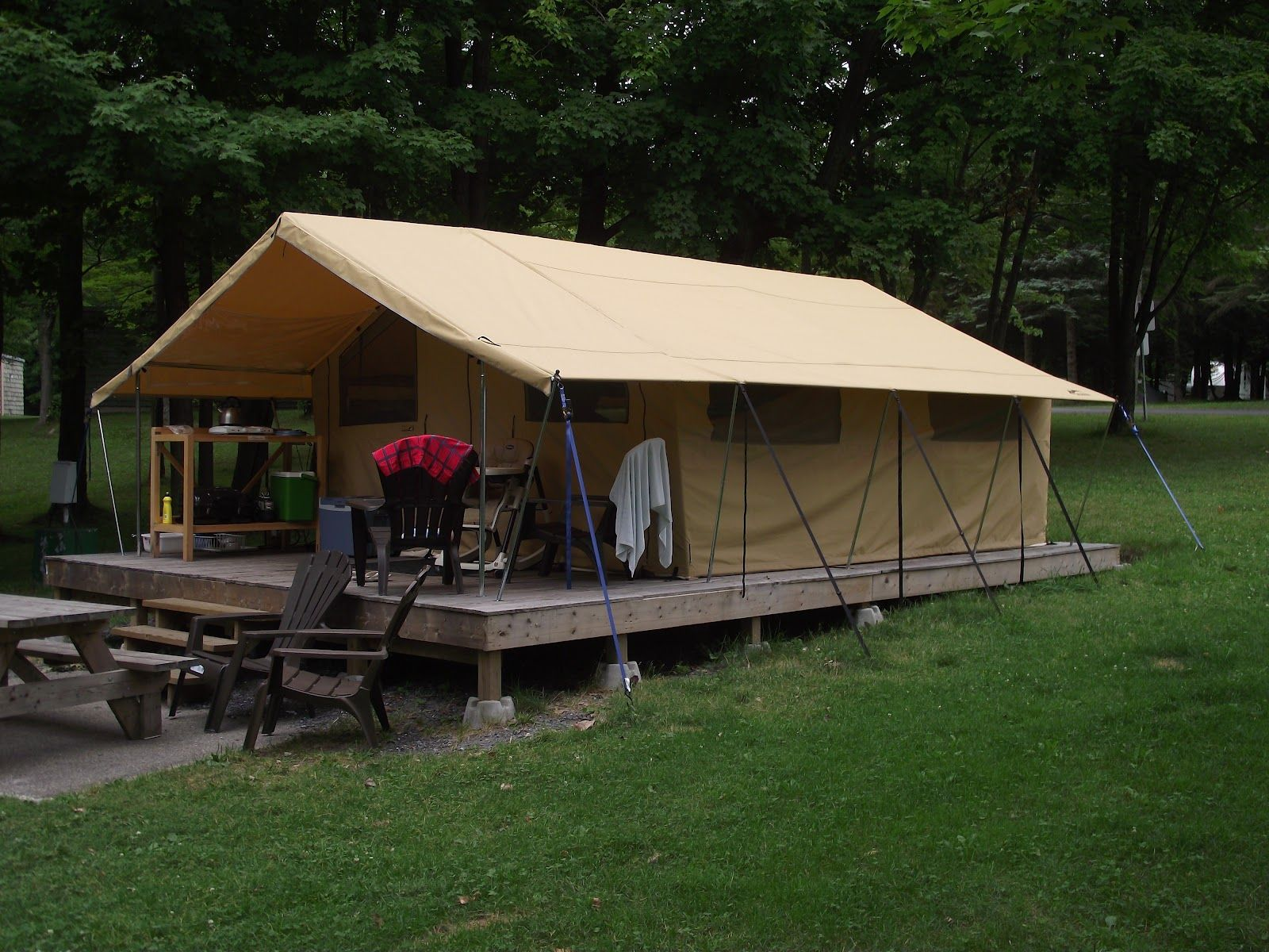 charming semi permanent tents #3: best cabin tents - Google Search