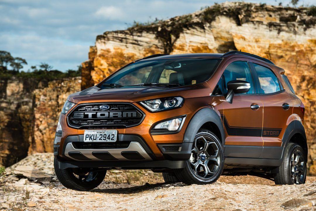 Ford Apresenta O Novo Ecosport Storm Em 2020 Ford Ecosport Ford Ranger Sport Ford Ranger