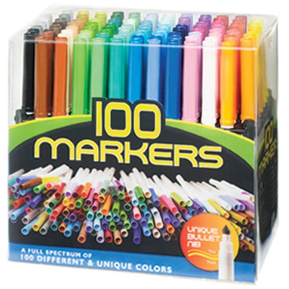 Amazon.com: Pro Art Bullet Point Marker Set, 100-Pack | Products for ...
