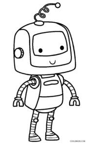 Robot Coloring Pages | Coloring pages for kids, Cool ...