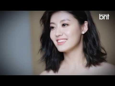BTS footage for Nam Ji Hyun's spunky and natural photo shoot with 'International bnt' | allkpop.com
