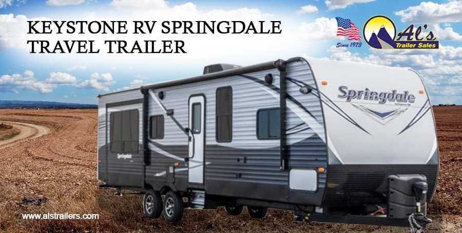 Dont miss out the Keystone RV Springdale Travel Trailer