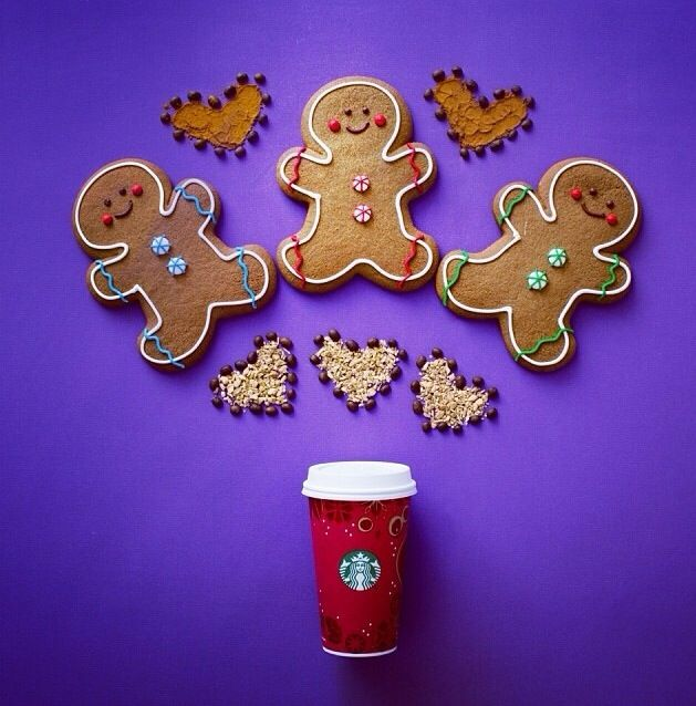 Gingerbread Latte, Starbucks, Gingerbread