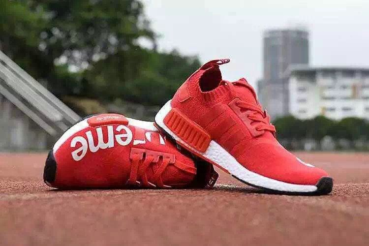 9dde81f504111 Official Adidas Supreme NMD Red White
