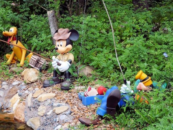 #Mickey Mouse #Lawn #Ornaments #Garden