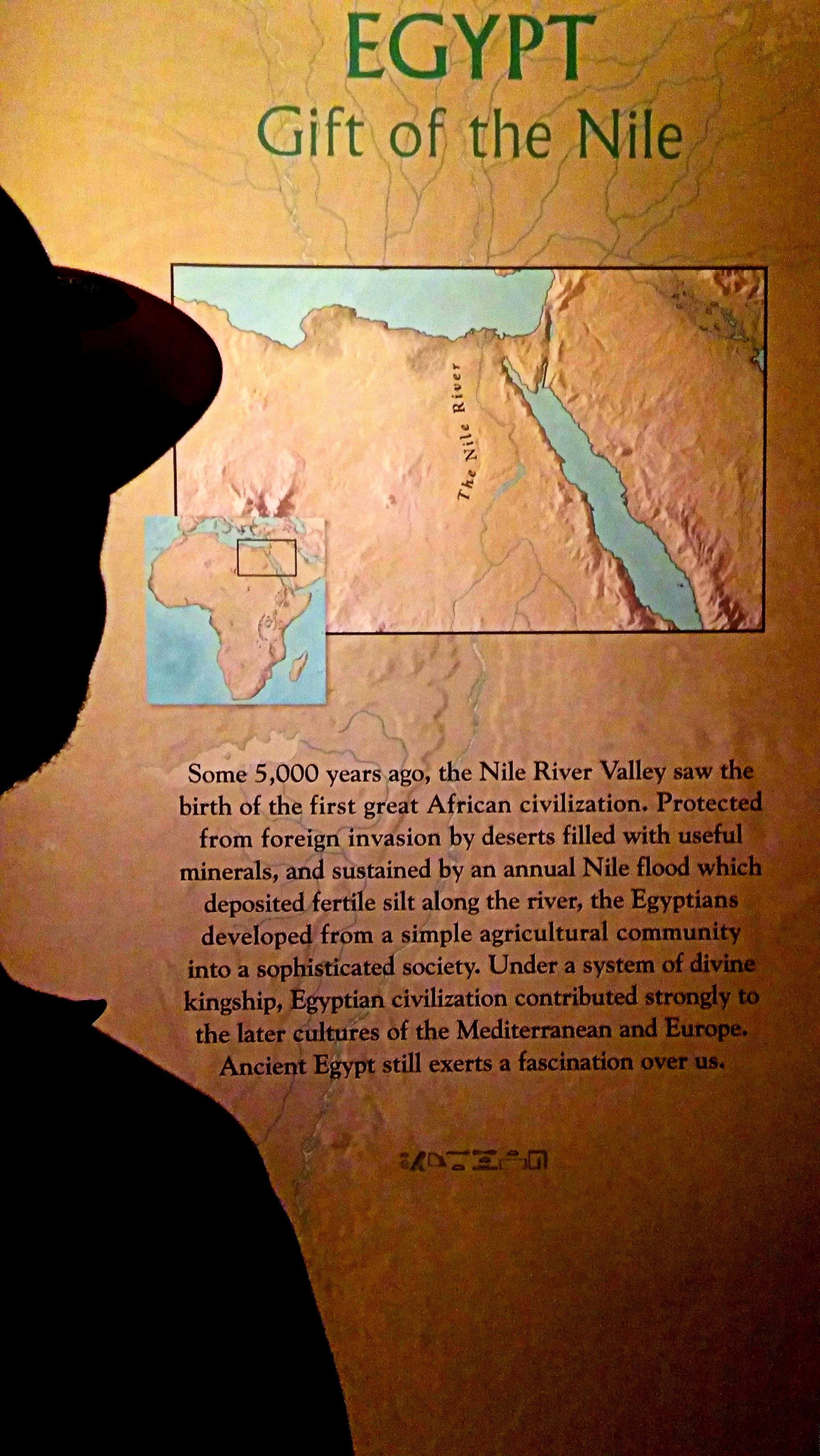 Some 5 000 Years Ago The Nile River Valley Saw Birth Of