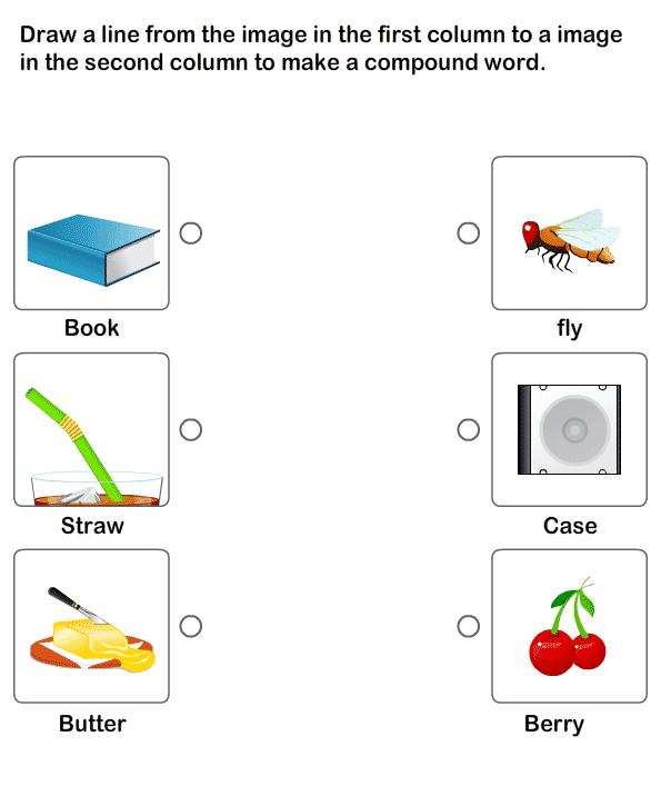 Compound Words Worksheet 16 - Esl-efl Worksheets - Kindergarten Worksheets  Compound Words, Compound Words Worksheets, Kindergarten Worksheets